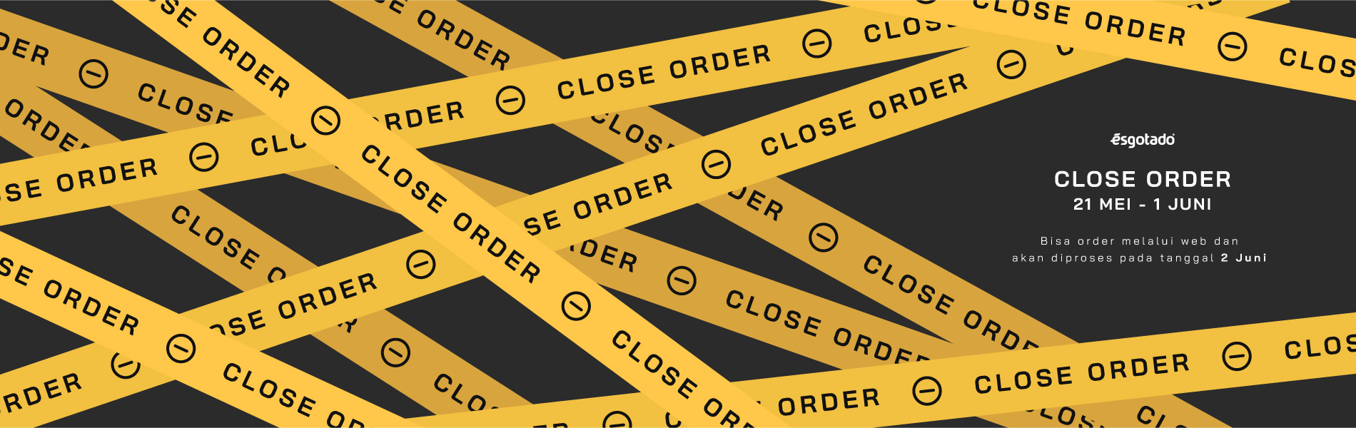 banner closed order 2020